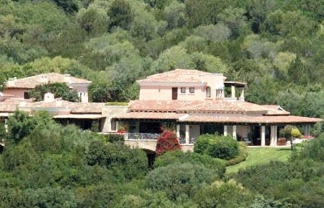 Silvio Berlusconi villasının