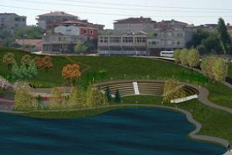 Sultanbeyli Gölet projesi başlandı!