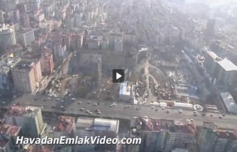 Quasar İstanbul'un havadan videosu!