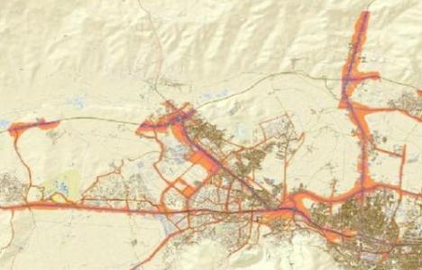 Bursa'nın gürültü haritası