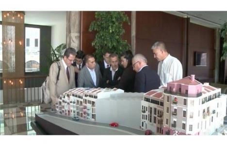 Cezayir heyeti Beyoğlu'ndaki kentsel dönüşümü inceledi!