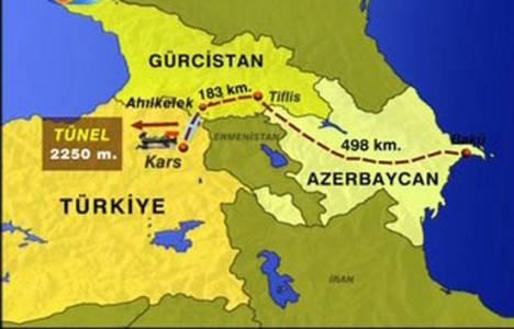 Kars Bakü demiryolu