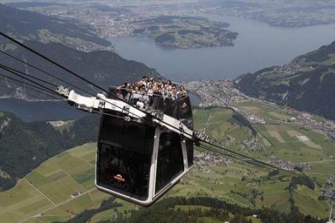 İsviçre'de dağa