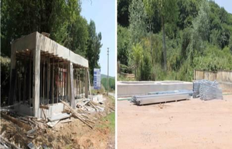 Kocaeli Kurtyeri'ne modern pazar alanı inşa ediliyor!