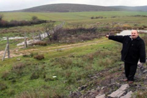 Doğan dev araziyi MİLPA ile toplamış