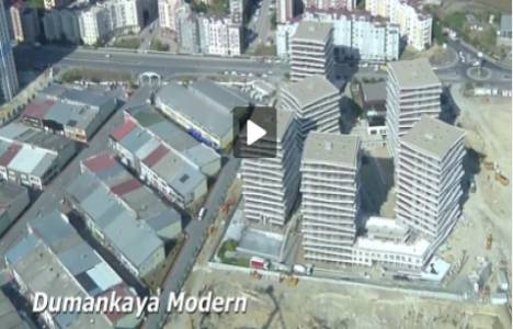 Dumankaya'nın 11 projesinden havadan video!