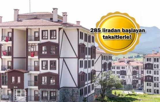 TOKİ'den 80 bin liradan başlayan fiyatlarla kurasız ev!