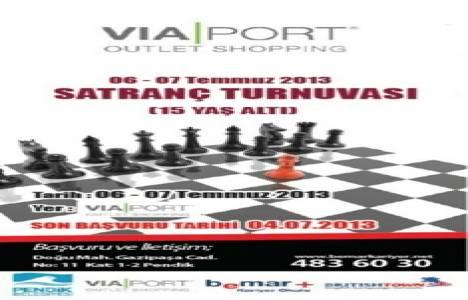 Via Port Outlet Shopping'te ödüllü satranç turnuvası başlıyor!