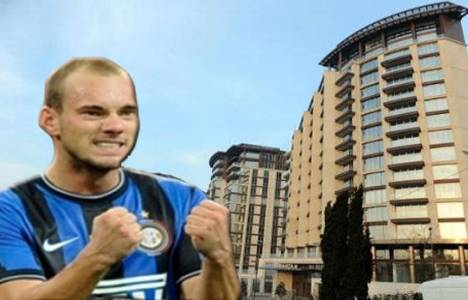 Wesley Sneijder Maçka Residence'ta 25 bin euroya daire kiraladı!