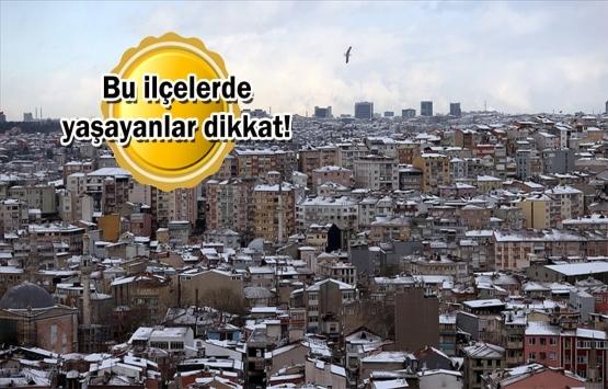 İstanbul'un en yaşlı konutları hangi ilçelerde?