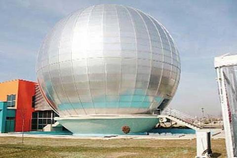 Uzay Evi, Eskişehir'de 2 bin 571 metrekare alan üzerine kuruldu!
