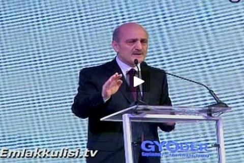Erdoğan Bayraktar, 12. Gayrimenkul Zirvesi'nde konuşuyor!