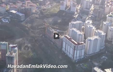 Beylikdüzü Ayışığı Vadi Evleri'nin havadan videosu!