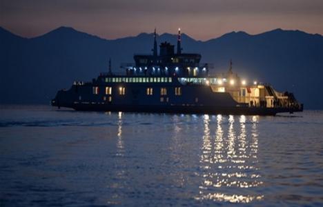 Türkiye'nin en büyük feribotu hizmete girdi!