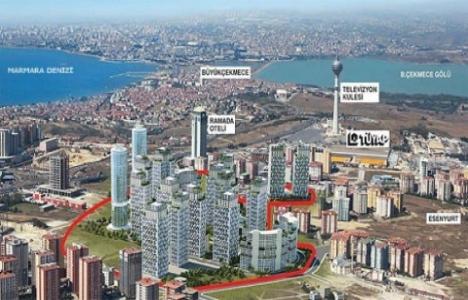 Kristal Şehir'de 2+1 180 bin lira!