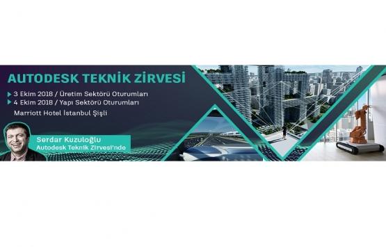 Ergün Mimarlık, Autodesk Teknik Zirvesi'nde boy gösterecek!