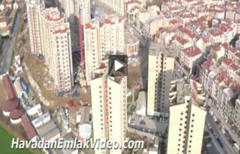 The İstanbul Veliefendi Evleri'nin havadan görüntüleri!