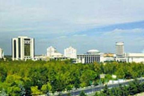 GAP İnşaat Türkmenistan'da