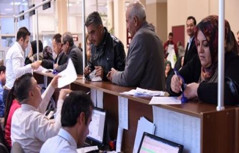 Şahinbey'de vergi yapılandırmasından 11 bin kişi yararlandı!