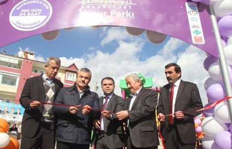 Safranbolu'da Huzur Parkı