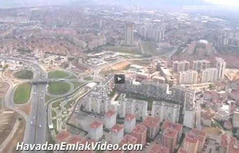 Çekmeköy Evidea Evleri'nin havadan en yeni görüntüleri!