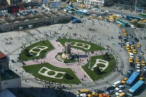 Taksim Meydanı'na Topçu
