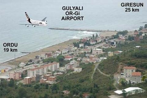Ordu-Giresun Havaalanı için denize 29 milyon ton taş dökülecek!