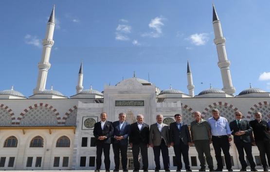 Çamlıca Camii inşaatında son durum!