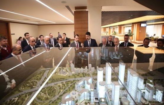 İstanbul Finans Merkezi'ni kısa zamanda ülkemize kazandıracağız!