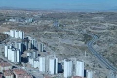 Ankara'nın kuzey girişine