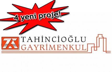 Tahincioğlu Gayrimenkul 2014 yılında 4 yeni proje yapacak!