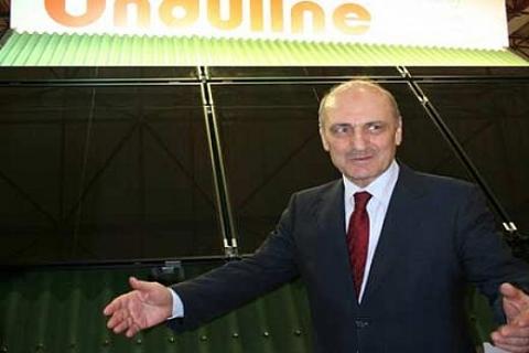 Erdoğan Bayraktar, katıldığı fuarda Onduline Avrasya standını ziyaret etti!