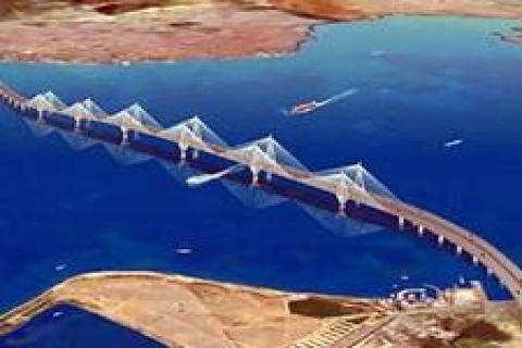 İzmir-İstanbul Otoyolu inşaatına