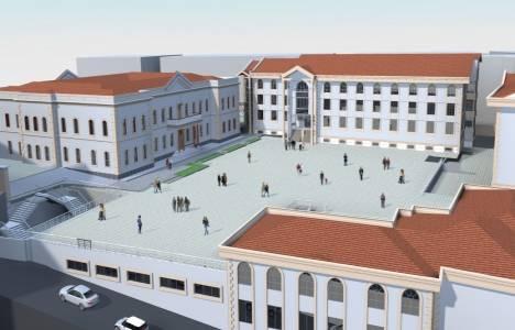 Bursa Anadolu Erkek Lisesi spor salonunun temeli atıldı!
