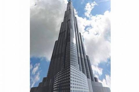 Burj Halife'nin 110.