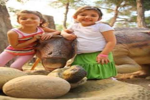 Antalya Kemer'de Dinopark hizmete girdi!