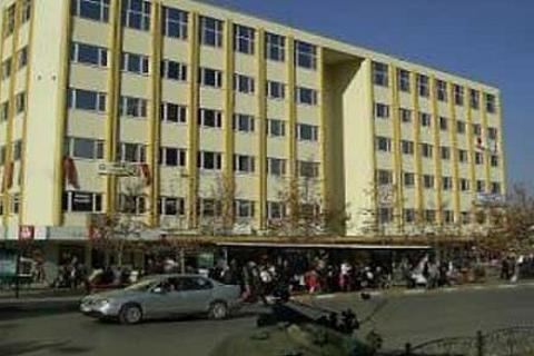 Isparta Belediye İşhanı'nda