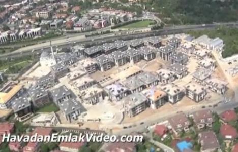 Şehrizar Konakları'nın havadan görüntüleri!
