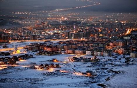 Erzurum Palandöken'de 10,1