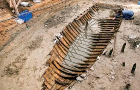 Marmaray'ın Yenikapı kazılarında