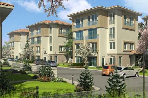 Bahçeşehir Asmalı Evler'de 540 bin TL'ye ikiz katlı villa!