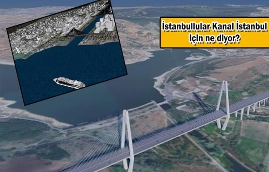 İBB'den dikkat çeken Kanal İstanbul anketi!