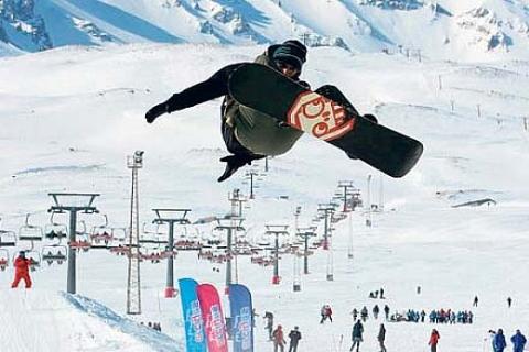Kayak pisti ve 25 otel Erciyes'i zirveye taşıyacak!