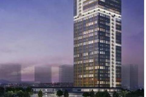 Tahincioğlu Gayrimenkul'den Palladium Tower projesinde metrekaresi 5 bin dolara ofis!