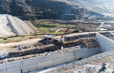 Samsun 19 Mayıs Barajı'nın yüzde 90'ı tamam!