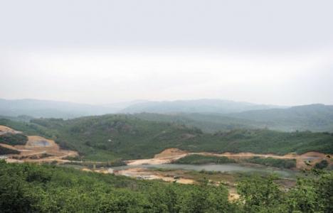 Melen Barajı'nın yüzde
