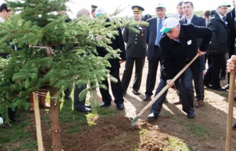 Yavuz Sultan Selim'in adına hatıra ormanı kuruldu!