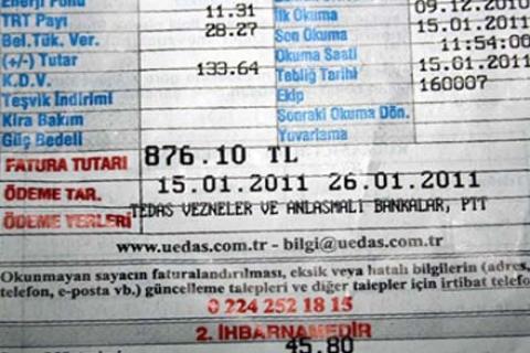 TOKİ, TRT'nin elektrik