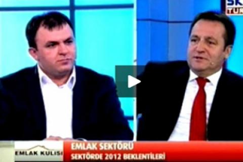 Tebernüş Kireçci, Emlak Kulisi'nde Bülent Ataman'ı ağırladı!