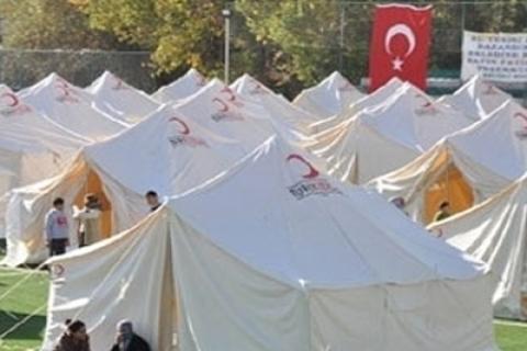 Kızılay Van Mevlana evleri ve çadırlarda başarılı olamadı!